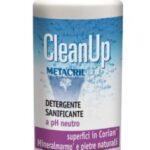 CleanUp Metacril Tecno Line detergente sanificante neutro per CORIAN e superfici delicate 500ml