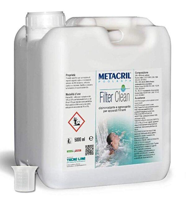 Fiter clean tecn line tanica 5000ml