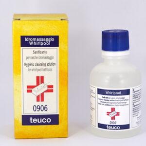 igienizzante sanificante disinfettante vasca idromassaggio Teuo