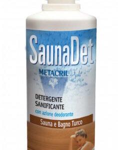 Sauna Det Metacril Detergente e Igienizzante per Sauna a base Naturale