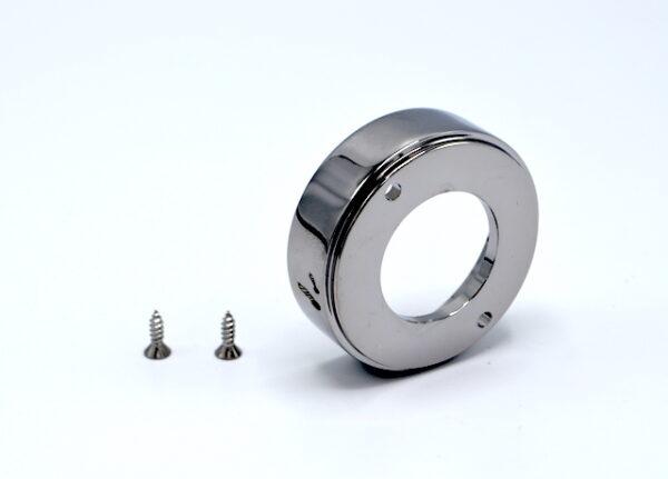 Ghiera maniglia mix teuco serie Round cromo cod. 81128200