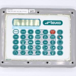 Ricambio Pannello comandi idrodoccia multifunzione Teuco 250/F con mix elettronico cod. 88374300